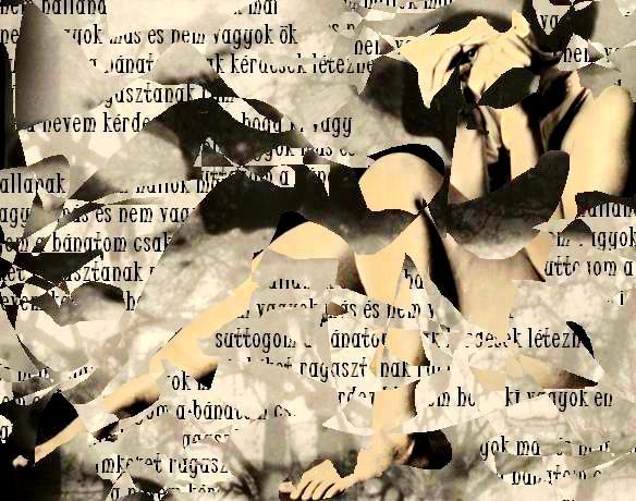 Sós Dóra Gabriella: Álca (vizuális költemény)