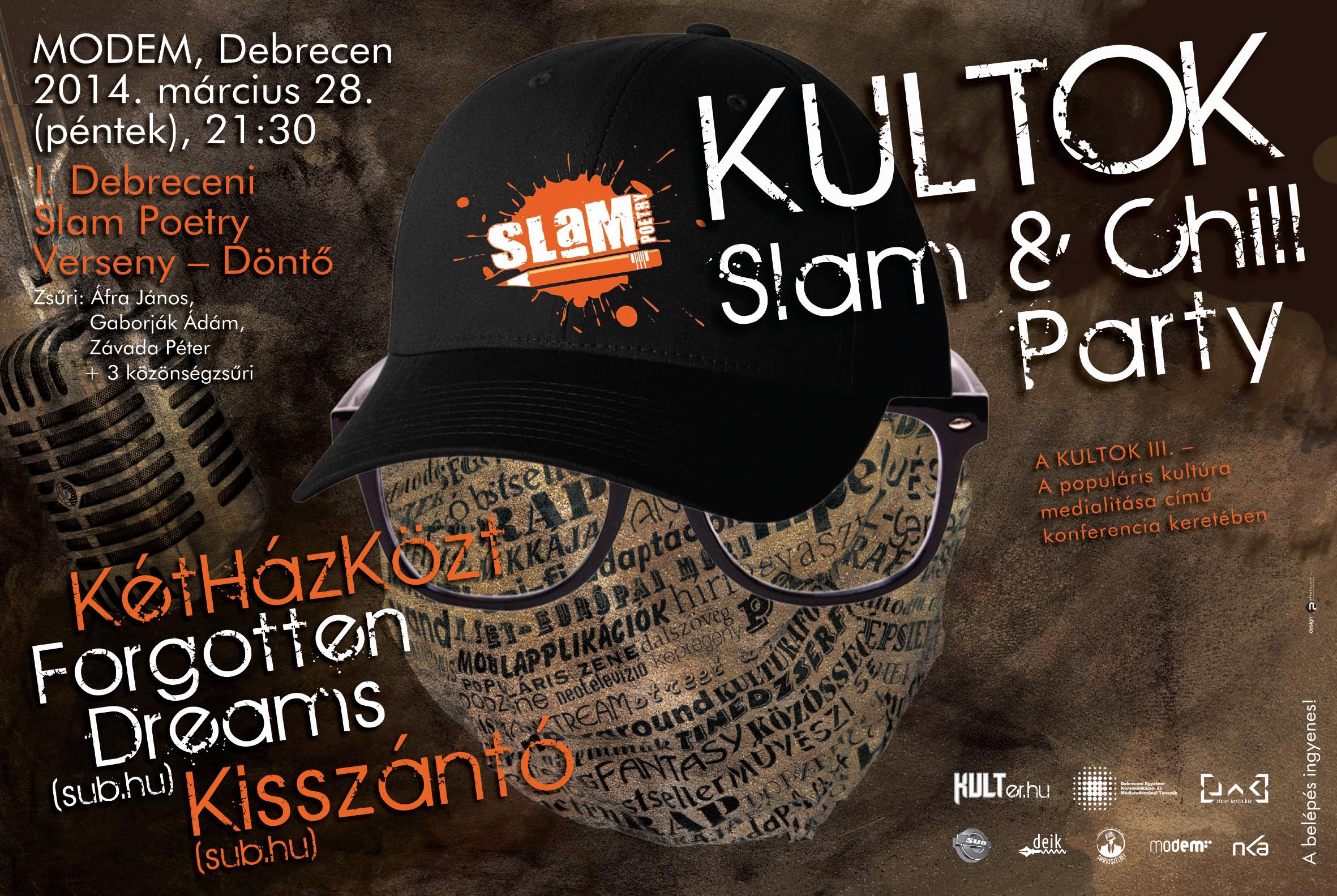Slam 2014 plakat