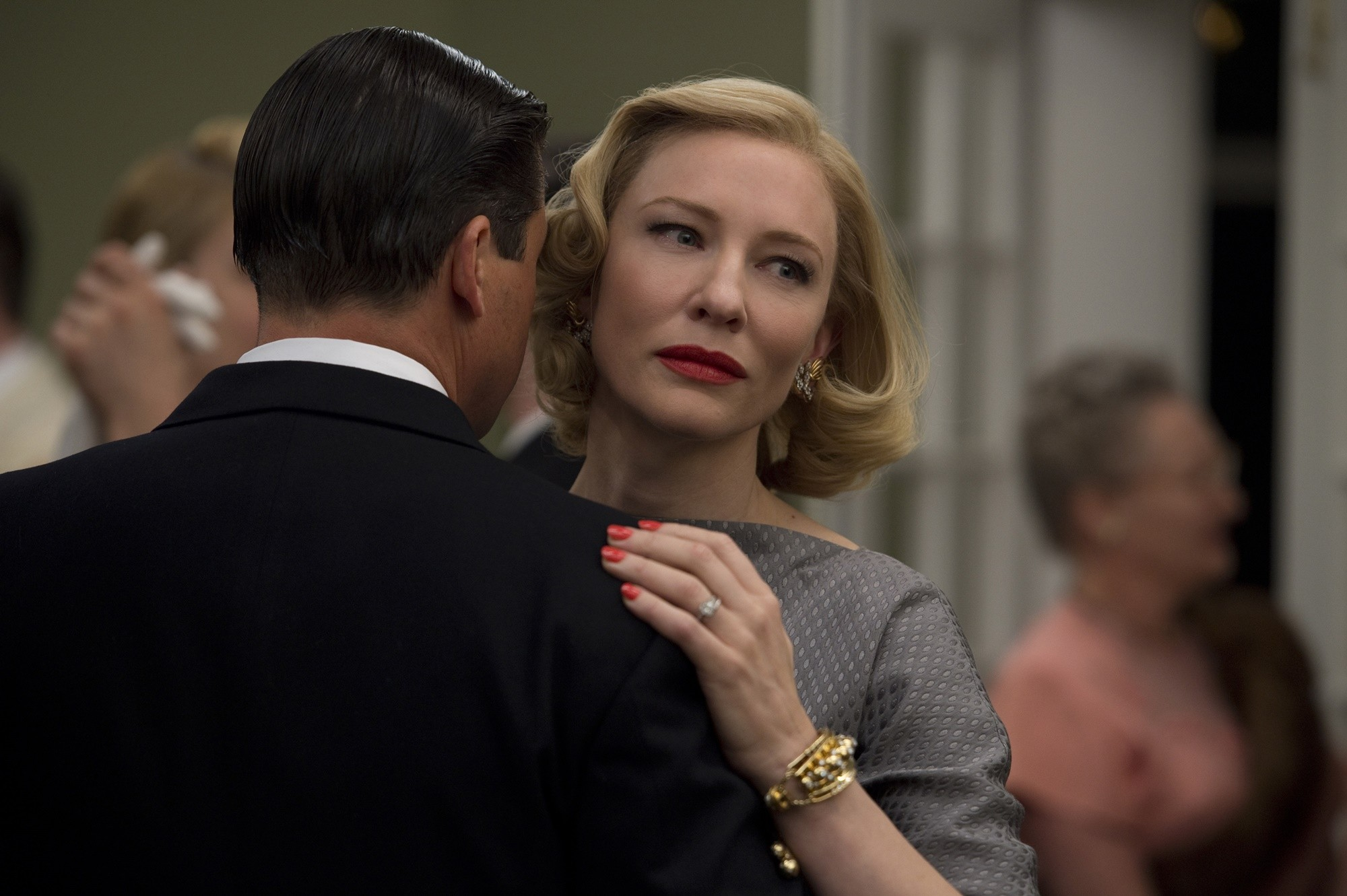 (L-R) KYLE CHANDLER and CATE BLANCHETT star in CAROL
