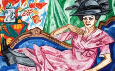 Olga Rozanova Nővérem, Anna Vlagyimirovna Rozanova arcképe, 1912