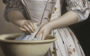 A Lady's Maid Soaping Linen c.1765-82 Henry Robert Morland 1716-1797 Purchased 1894 http://www.tate.org.uk/art/work/N01402