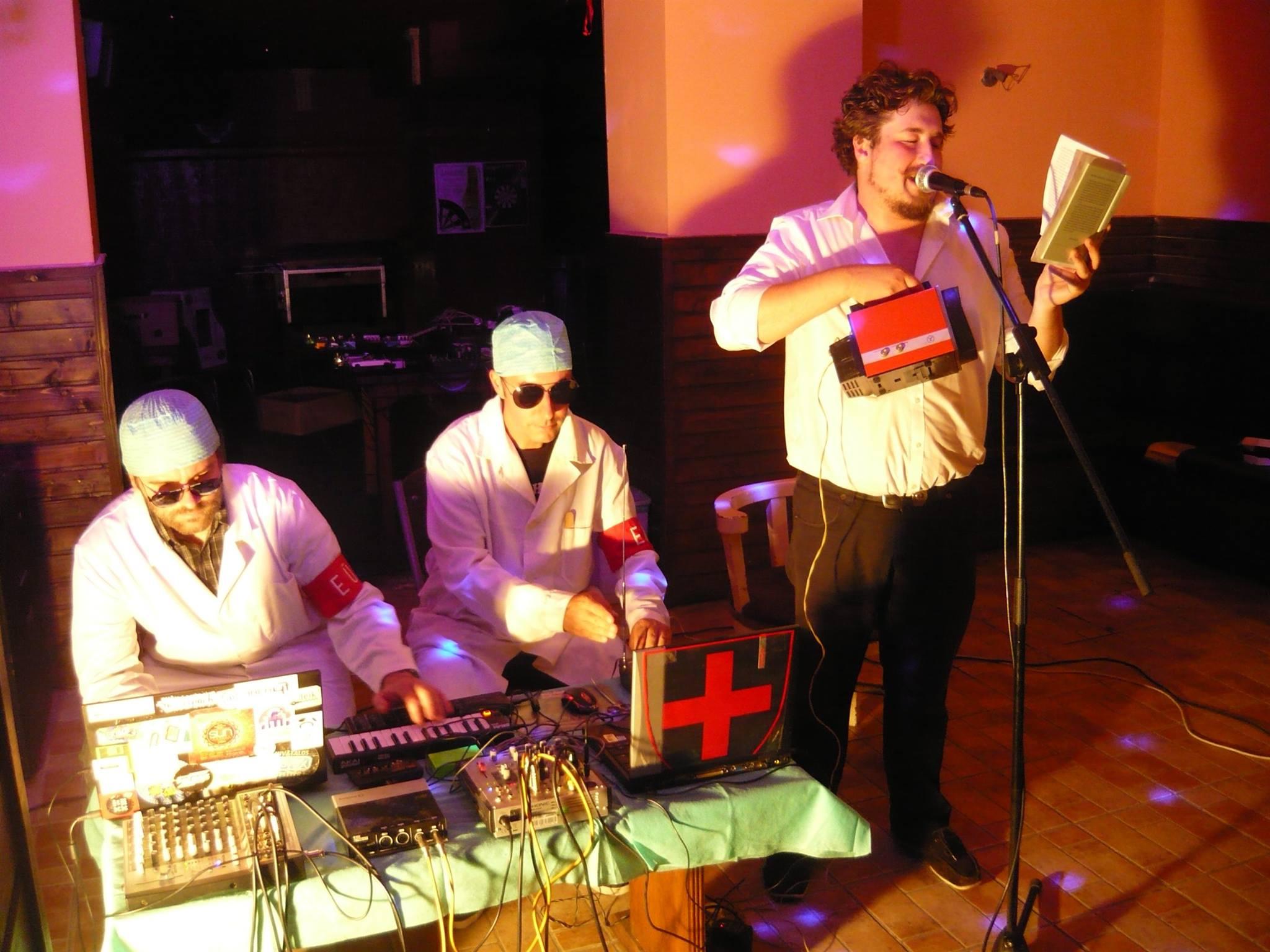 Dr.Kondor feat. Eoforwine & Marczin I. Bence ( fotó- Bíró Kornél)
