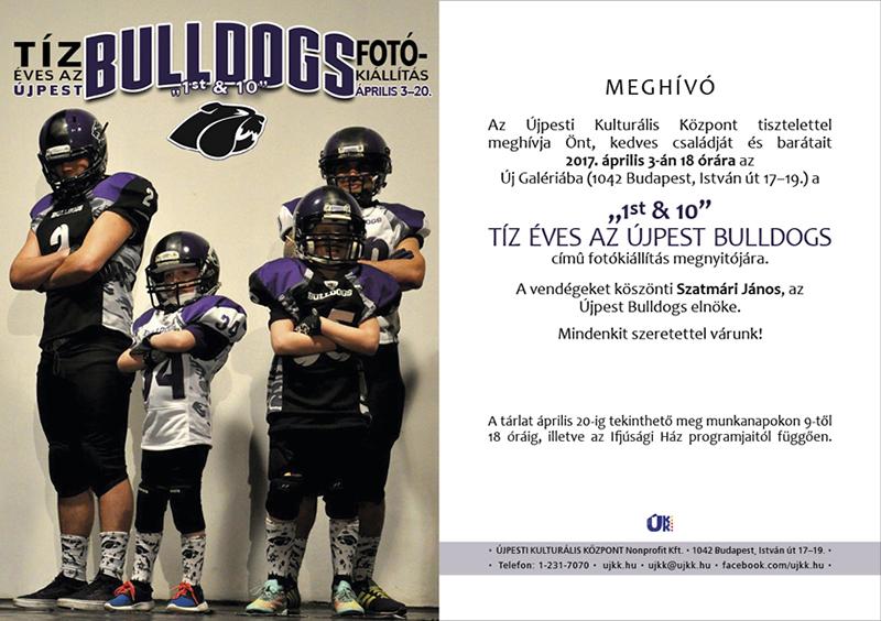 Tíz éves az Újpest Bulldogs
