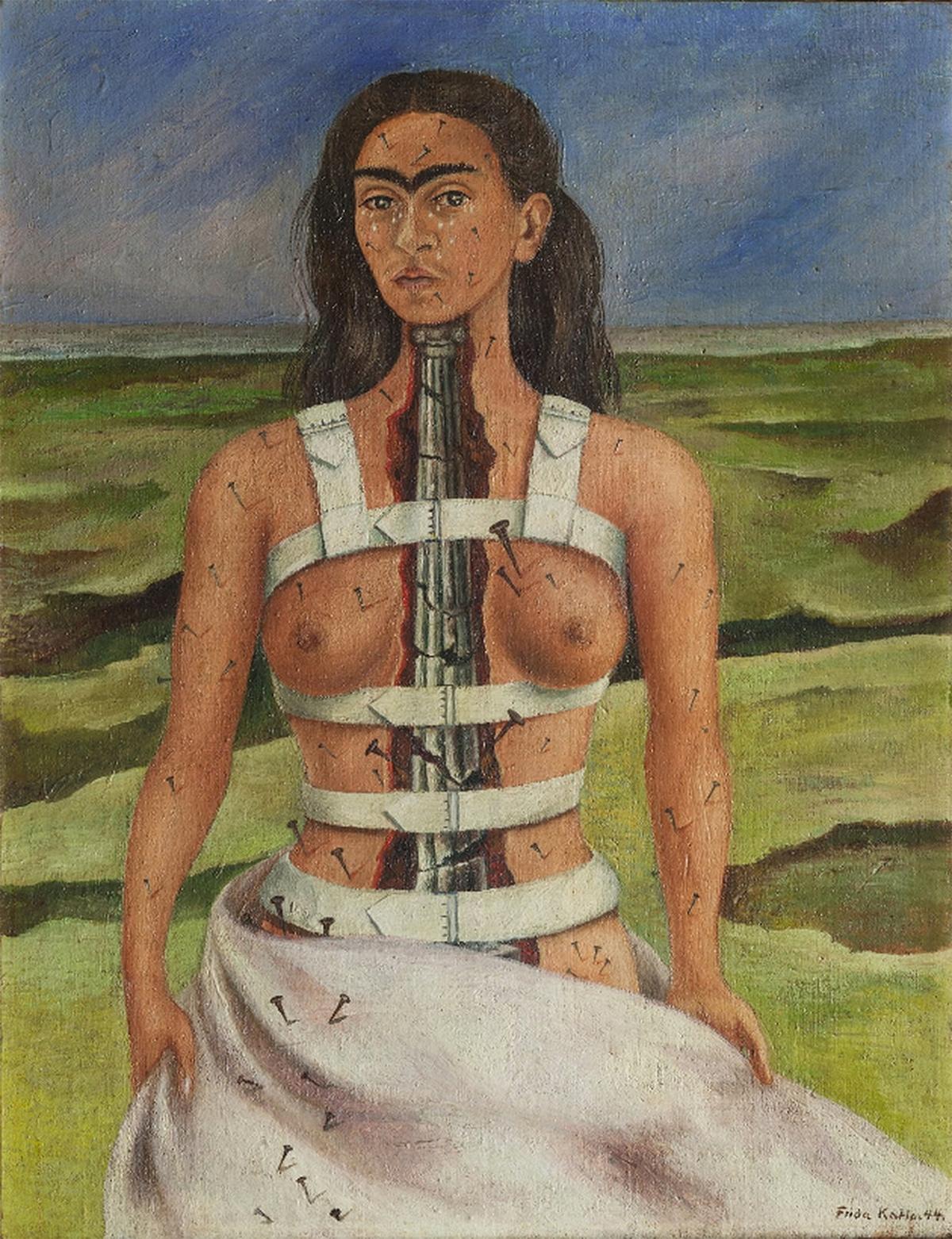 Frida Kahlo: A törött oszlop