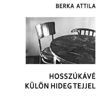 Berka Attila: Hosszúkávé külön hideg tejjel