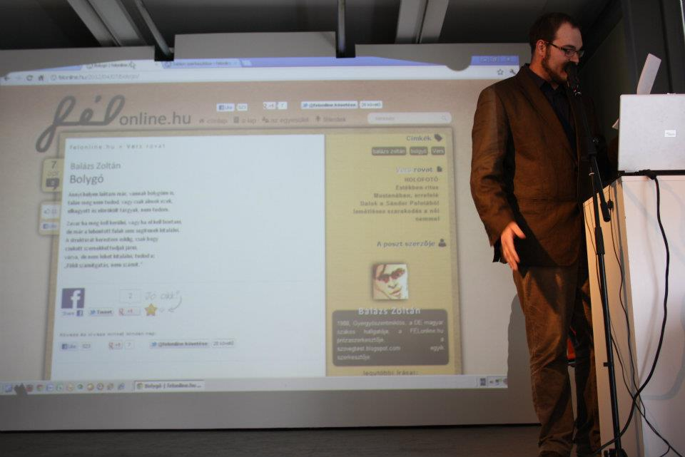 Braun Barna audiovizuális prezentációja
