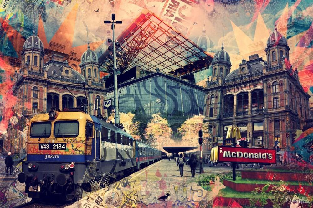 Szabó-Lencz Péter: Budapest Avantgarde #8