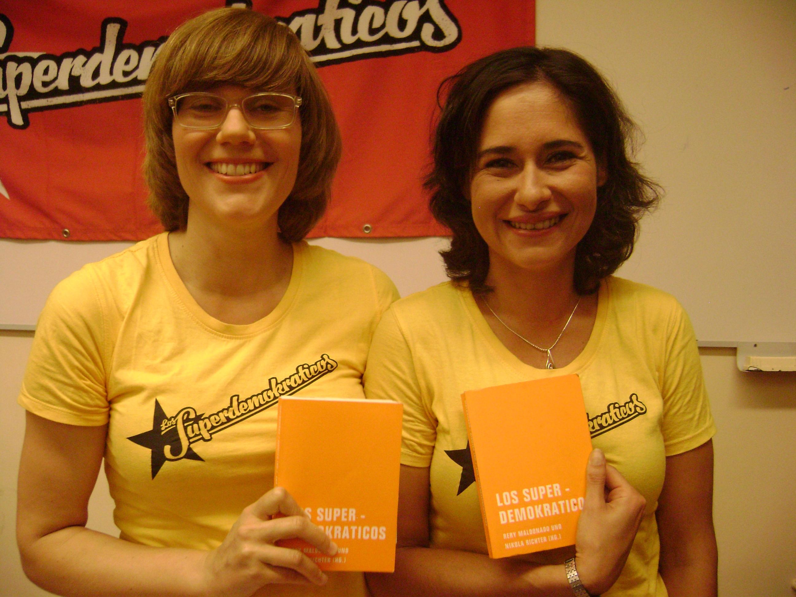 A német szerzőpáros: balra Nikola Richter, jobbra Rery Maldonado