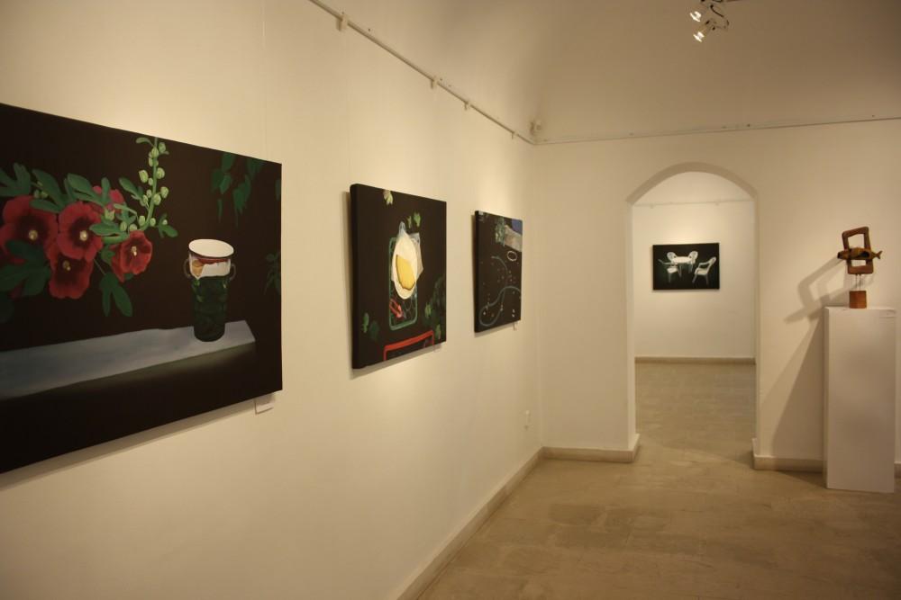 kiállítás enteriőr