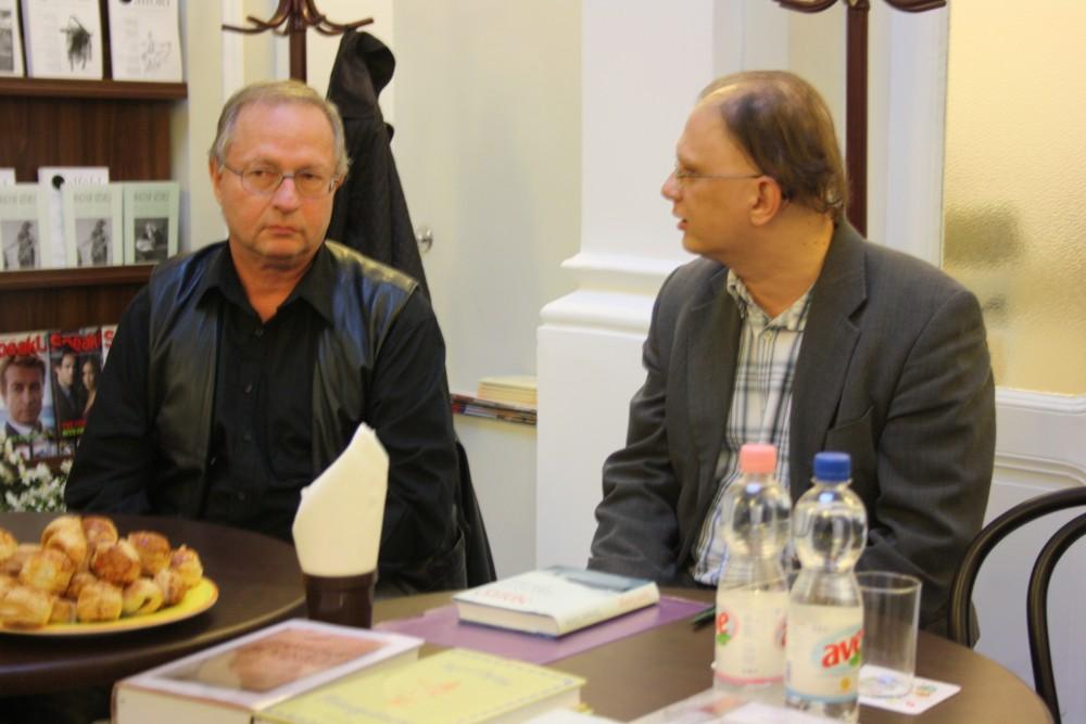 Spiró György és Szirák Péter beszélgetése