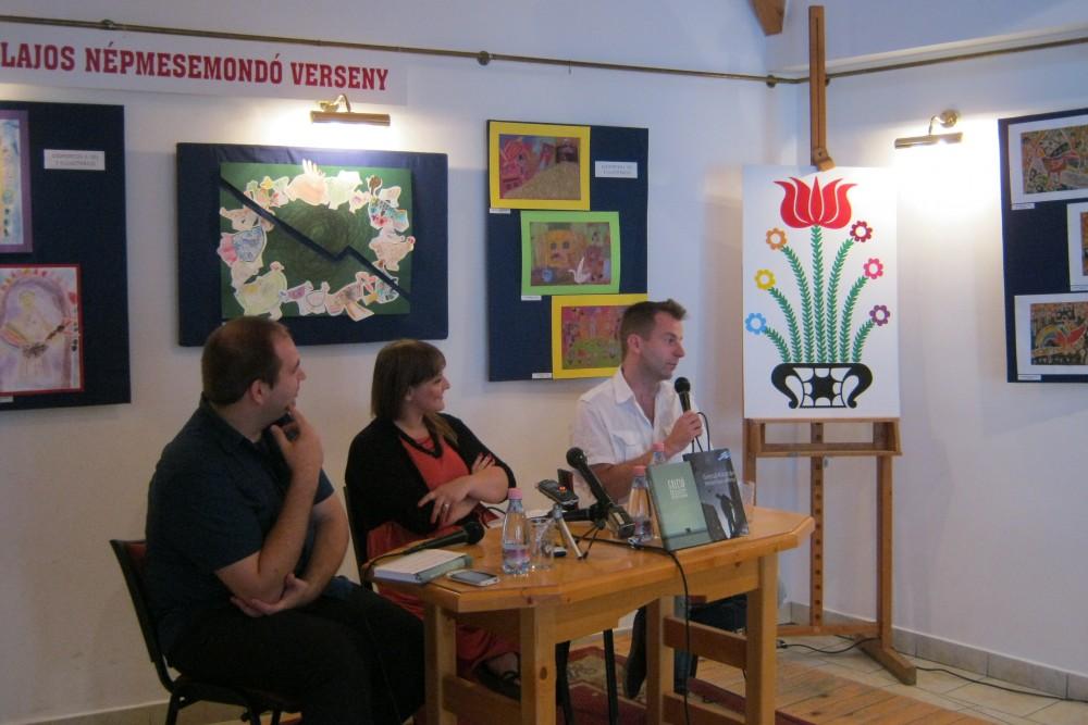 Patócs László és Berényi Emőke kérdezte az írót