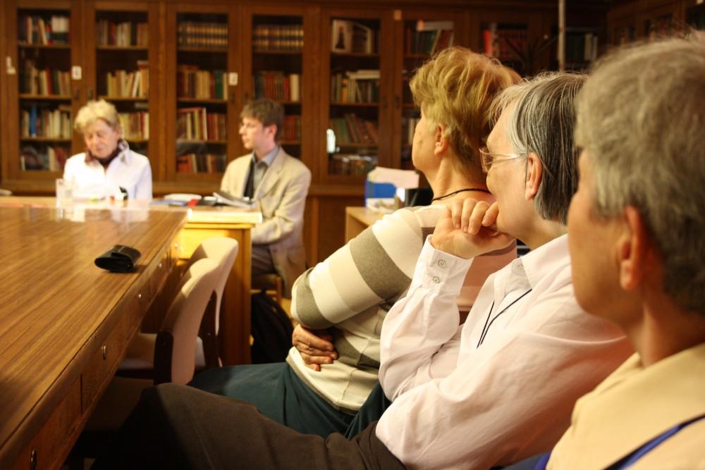 Pillanatkép a Takács Zsuzsával való beszélgetésről