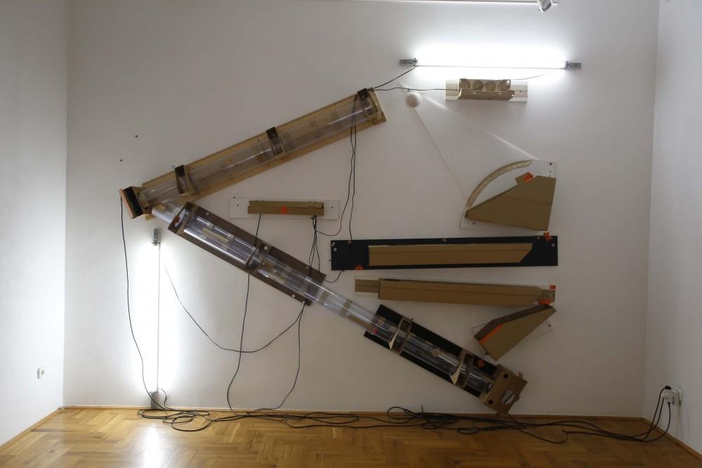 Cseke Szilárd: Beállítás, a Molnár Ani Galéria hozzájárulásával