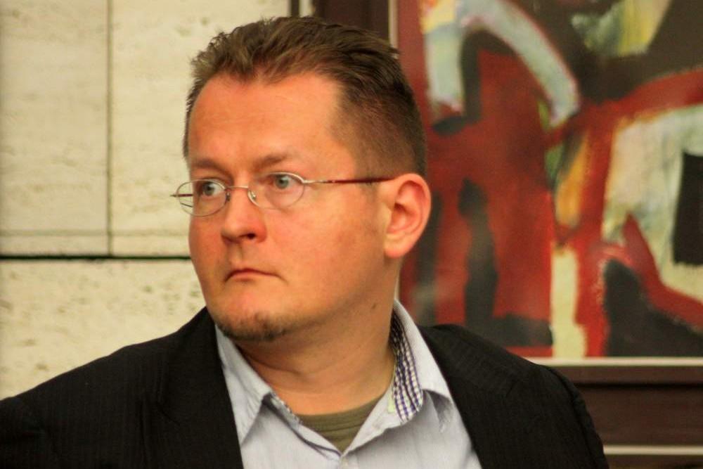 Térey János (fotó: Csonka Zoltán)