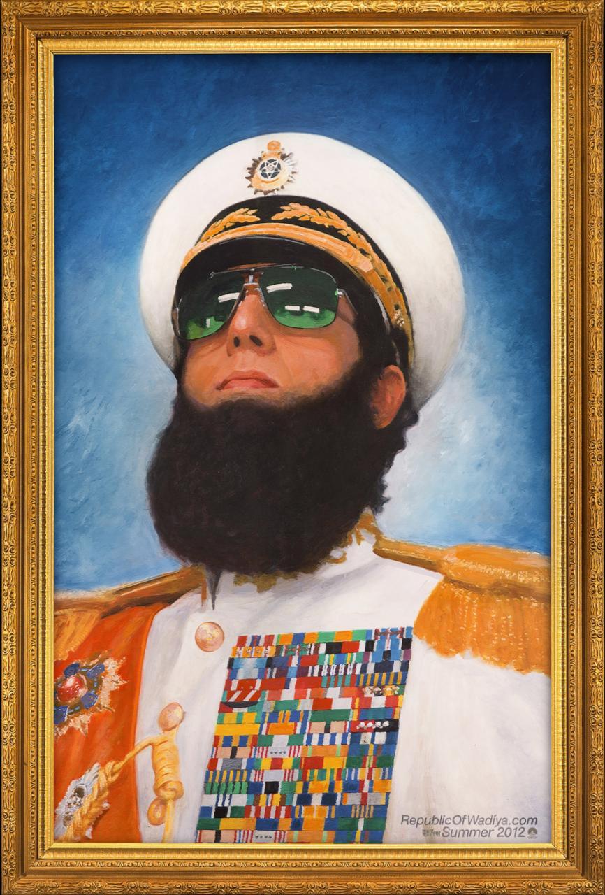 A diktátor - Sacha Baron Cohen
