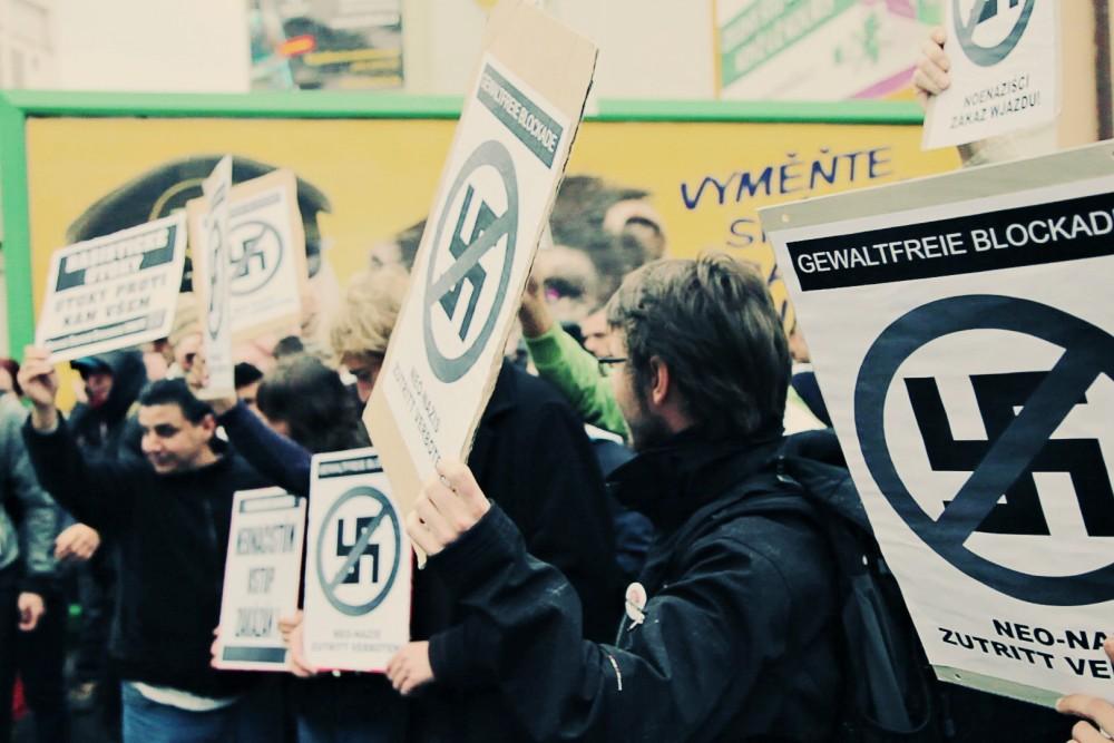 Tomas Rafa, Blockade of march of neofascists in Brno, may 2011