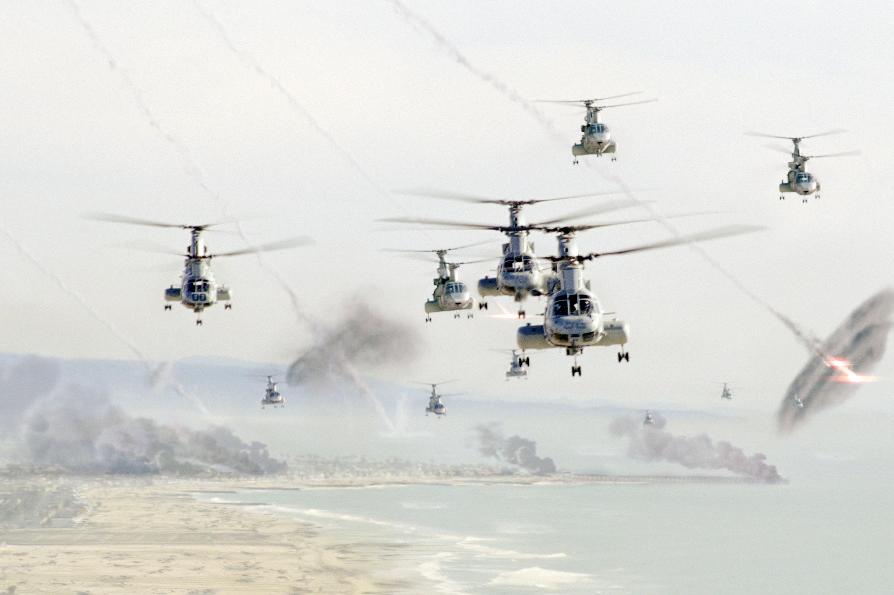 helikopterekkel az idegenek ellen