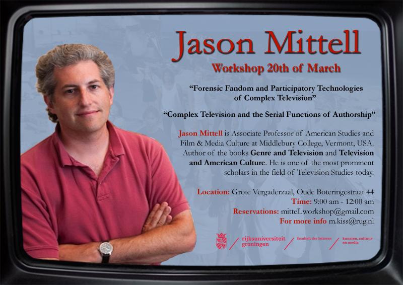 Jason Mittell előadásának beharangozója