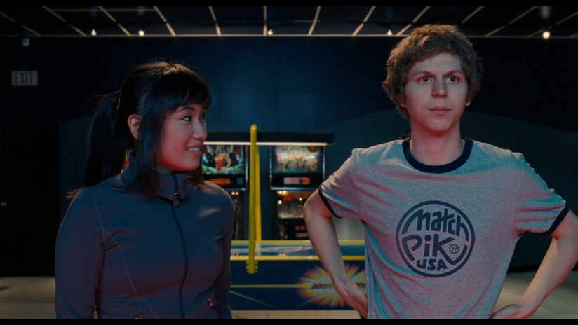 sajnos a filmben Scott nem annyira cool, mint amennyire geek