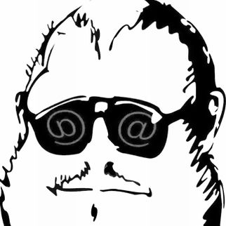Keisz Gellért karikatúrája Balla D. Károlyról