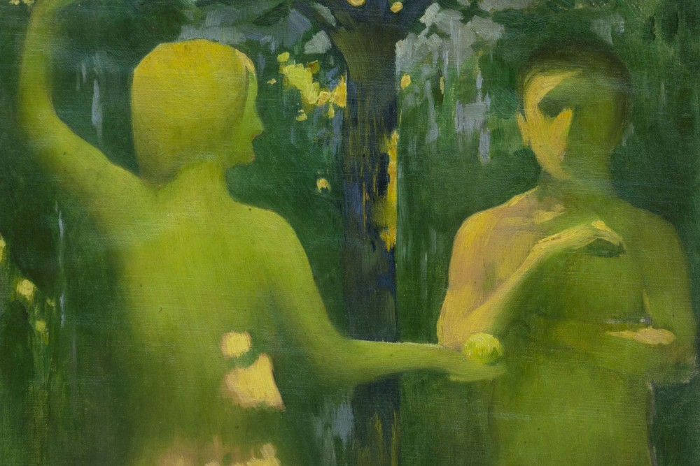 Vaszary János: Ádám és Éva