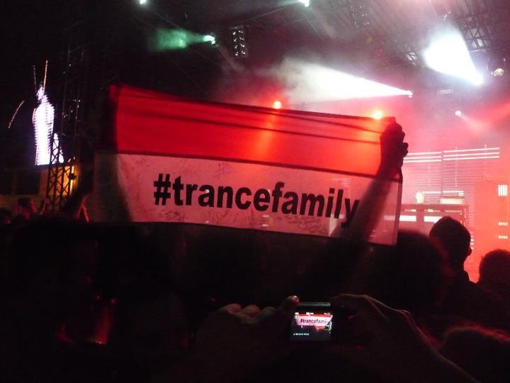 Trance Family zászló